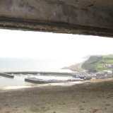View from German bunker