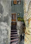 14 Via Castello Malcesine 28x20cms