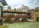 Bridge at Bassano 26x36cms