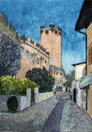 Castello Scaligero, Malcesine 28x20