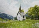 Chapel in the fields Reischach