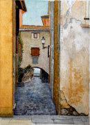 Hotel del Porto, Torri del Benaco 20 cm x 28 cm