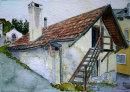 Laatsch house 16x26cms