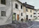 Prad street Sud Tirol 26x36