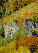 Schloss Brunnenberg 28cm x 20cm