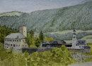 Schloss Lamprechtsberg 28cm x 20cm