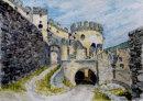 Schloss Lichtenberg 28cm x 20cm