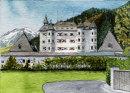 Schloss Munichau 20x28cms