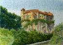 Schloss Runkelstein, Bruneck 28cm x 20 cm
