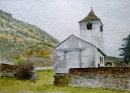 Church of St Sisinius 20x28cms