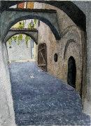 Tramin arches 36x26cms