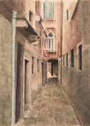 Venice street 34.3x24cms