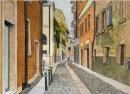 Verona street 26x36cms