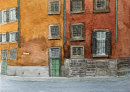 Street scene Verona 20x28
