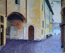 Via Capitanato, Malcesine Oil on canvas 50cm x 40cm