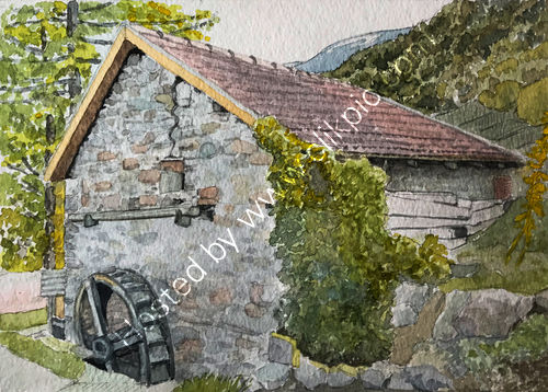 Waterwheel at Latsching 26x36