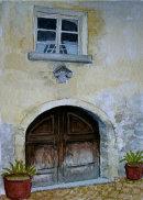 Burgeis doorway 26x16cms