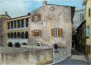 Convent at Torri del Benaco 20cm x 28cm