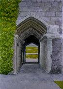 Cotehele gateway Cornwall 28x20cms