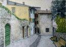 Malcesine, road to Castello