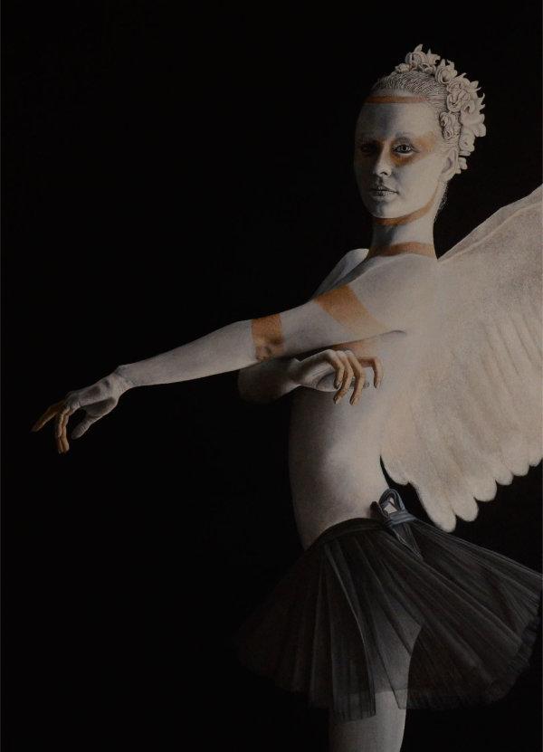 Angel #2 - oil