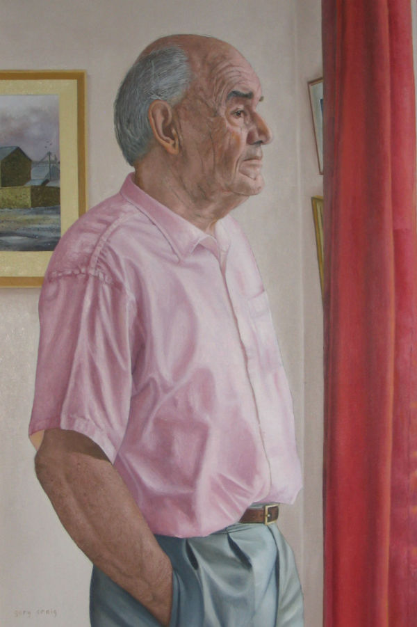 Portrait of Dave SMith (oil)