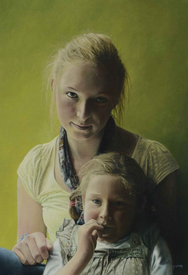 The Two Sisters (oil)