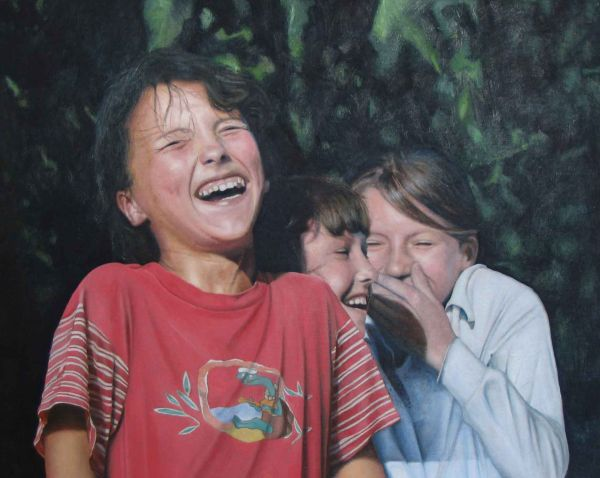 Laughter (oil)