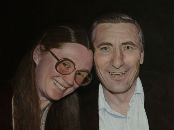 Peg and Ted (oil)