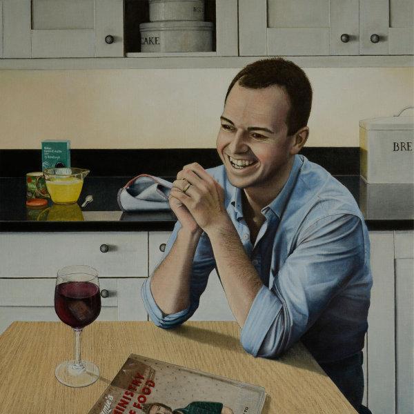 Portrait of Chris Watson (oil)