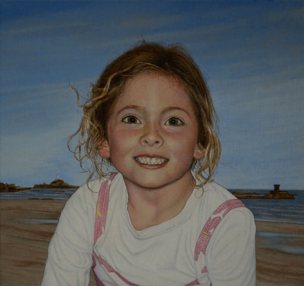 Portrait of Izzy - oil