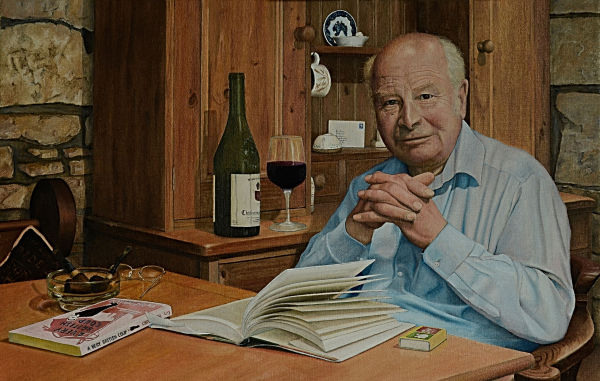 Portrait of Michael Brown (oil)