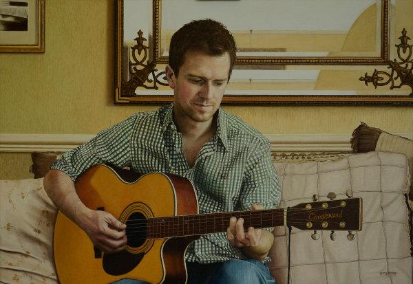 Portrait of Richard Watson - oil