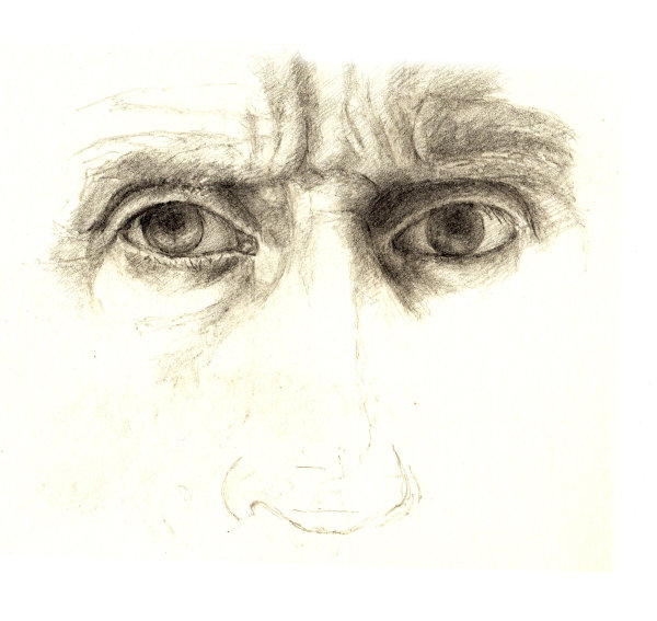 The Artist's Eyes (pencil)