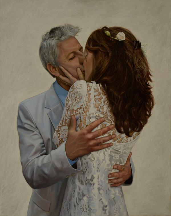 The Kiss (oil)