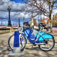 Barclays Bikes London