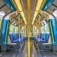 Jubille Line London Underground Train