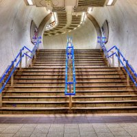 KIngs Cross Picadilly Line Stairs 3