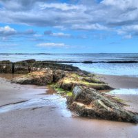 Seahouses Beach - Northumberland