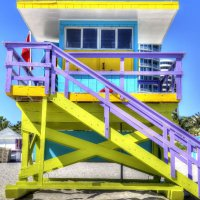 South Beach - Lifeguard Tower