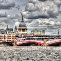 St Pauls - Blackfriars Bridge from Southbank
