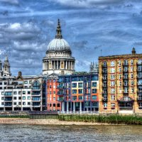 St Pauls from Bankside B