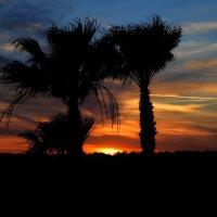 Sunset at Reunion