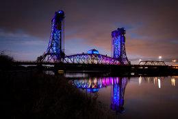 TEES BRIDGE LIGHTS