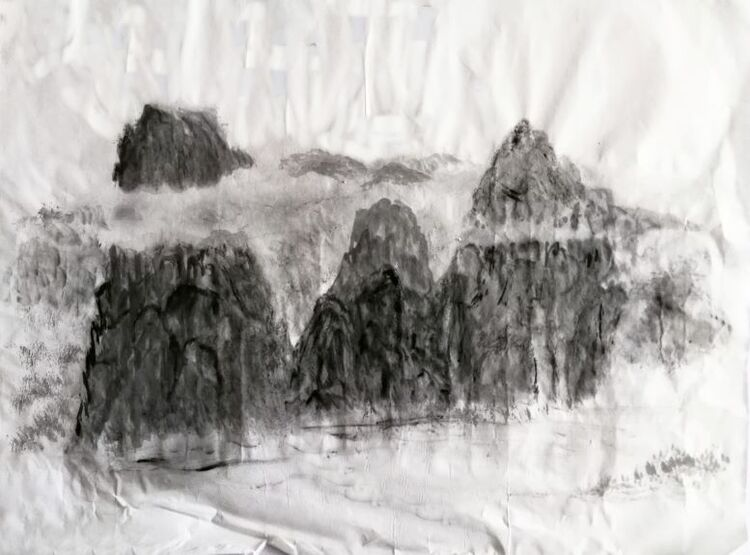 You-Jin Lou, Mist in Mountain
