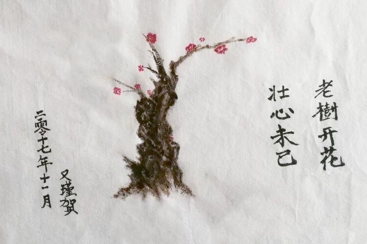 Yu-Jin Lou, Old Tree Blossom