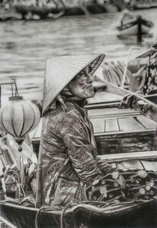 Doug Stevenson, Selling from her Boat