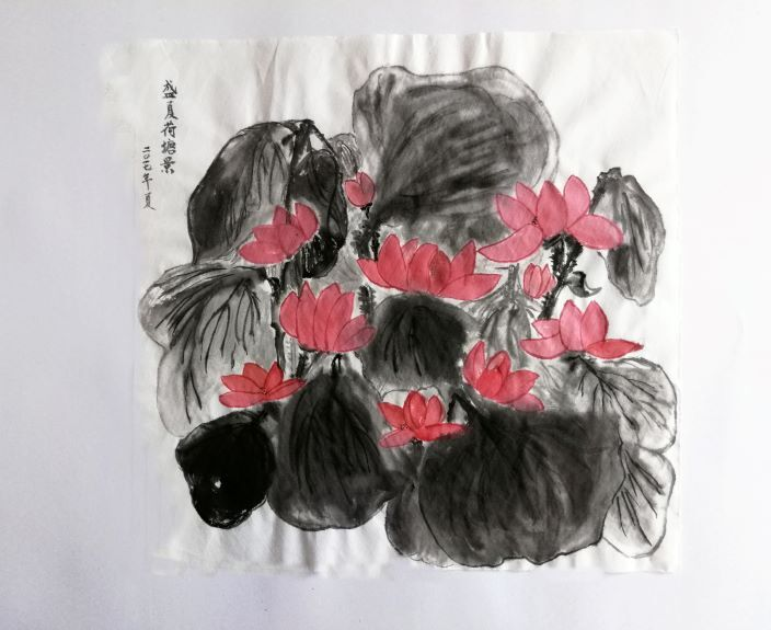 You-Jin Lou, Summer Lotus Blossom