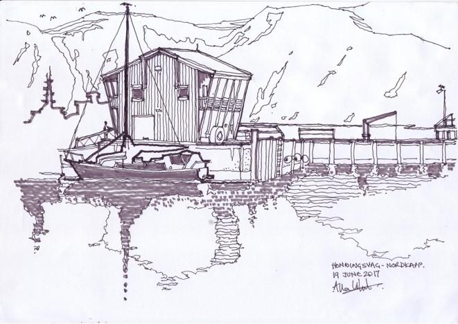 Norway Hondingsvag Nordcap -Allan White