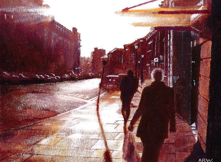 Grey Street Morning by Allan White